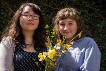 Hannah Jo and Katie