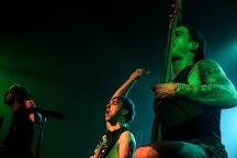 Jack Barakat, Alex Gaskarth, and Zack Merrick | All Time Low | Memphis, TN | New Daisy Theatre | April 4, 2014