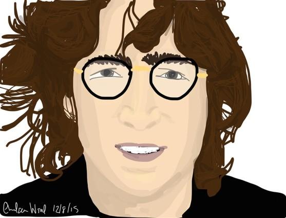 John Lennon - digital sketchbook drawing