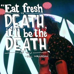 Ode to Subway quote by Eric Halvorsen