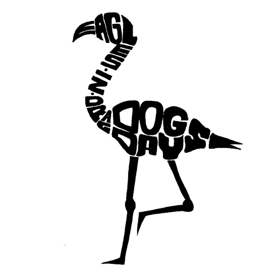 """""""Dog Days"""" by Eagles In Drag logo typography"""
