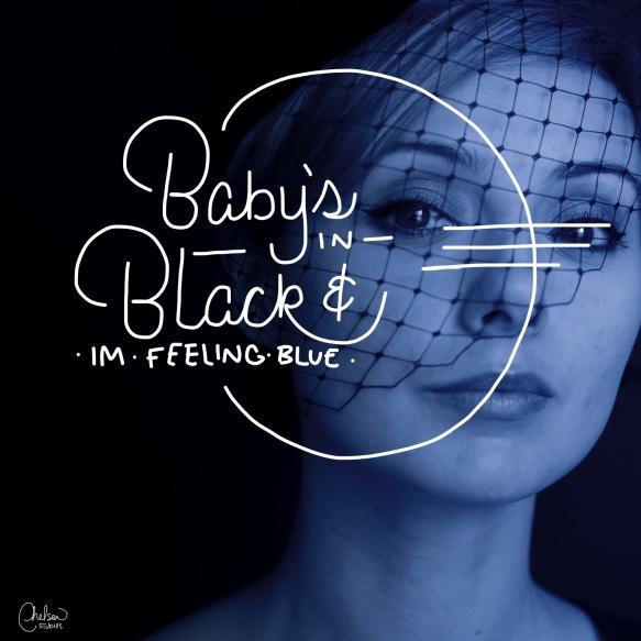 """""""Baby's in Black"""" - Day 44/365"""